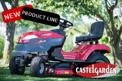 Castelgarden Ride-on Mowers now in stock