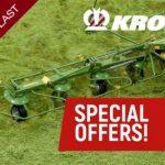 Krone Grassland Machinery special prices