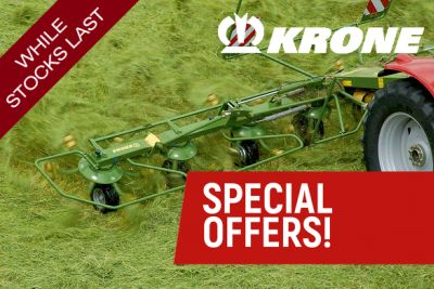 Krone Grassland Machinery Special Prices