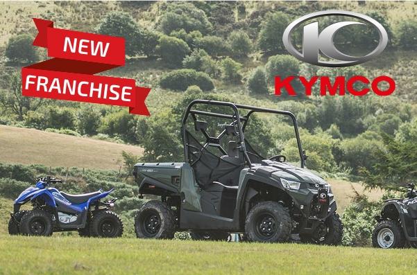 New Franchise – Kymco ATVs